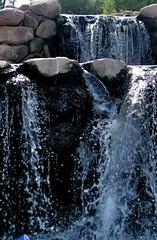 Falling Waters Singing The Blues (chicbee04) Tags: park blue arizona waterfall rocks tucson falling reid waters reidpark fallingwaters capturethefinest