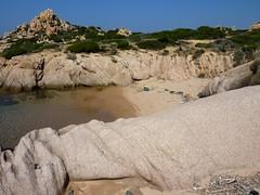 Une des criques juste avant Capu di Fenu