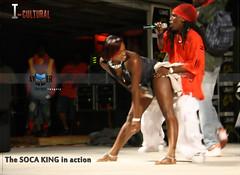 Soca King of Montserrat for 2009 (Aymer Designz Imagery) Tags: carnival music festival canon island rebel king singing jamming montserrat caribbean stocking xs jam wining drama isle emerald 2009 rasta soca jammin imagery designz rebelxs canonrebelxs aymer tavez icultural allioguana