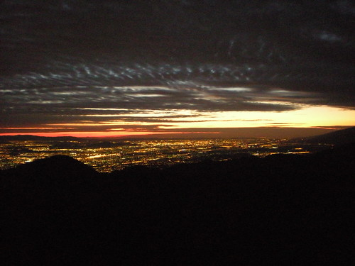 San Bernardino Mountains Sunset