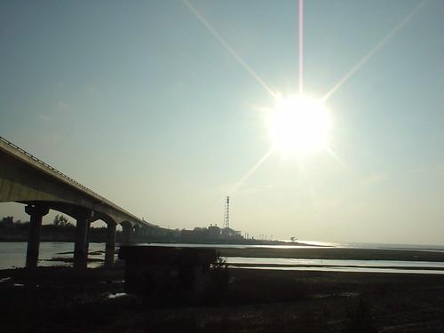 33.通霄南勢溪的日落 (1)