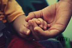 Together.. (- M7D . S h R a T y) Tags: baby cute kid dad child father edit happynewyear wordbyme allrightsreserved