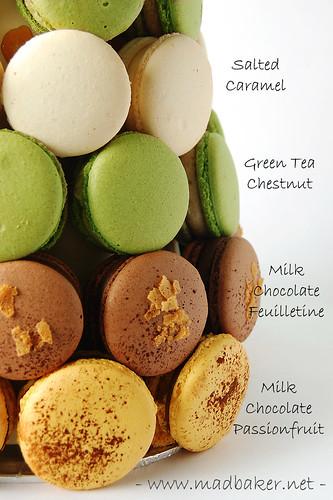 Macaron Croquembouche Closeup