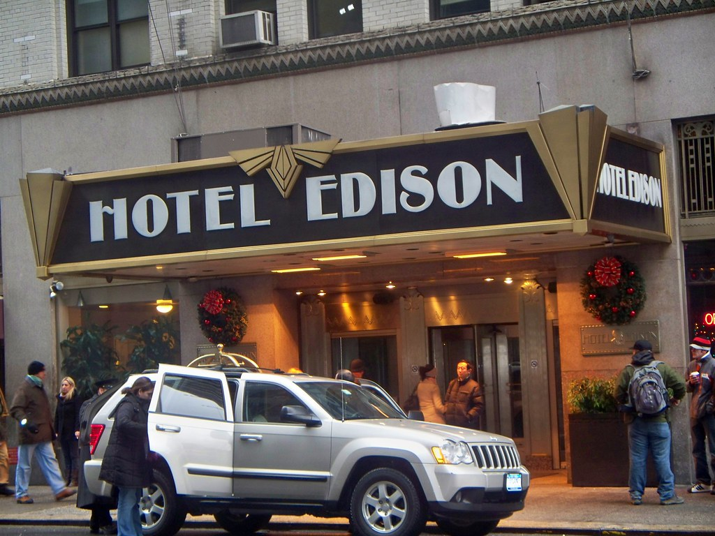 Edison Hotel Entrance NYC