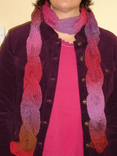 Snowy days Cora scarf 002