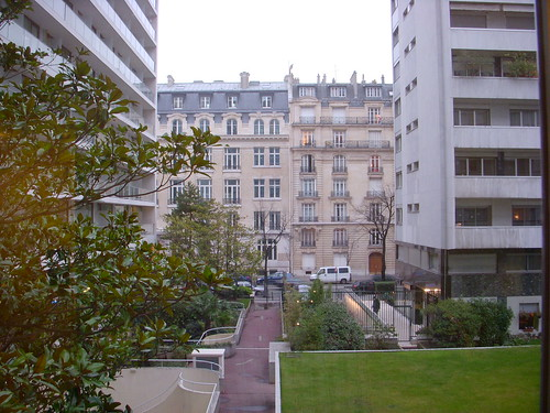 A View from our Paris Hotel Room