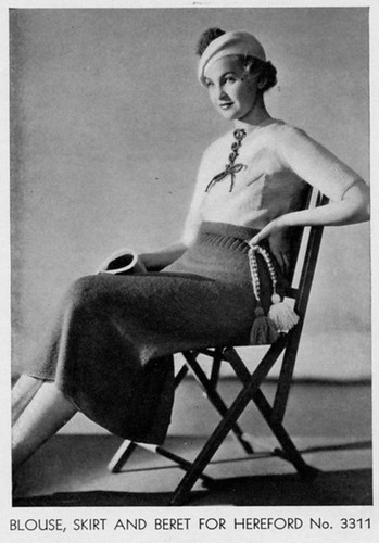1930s bathing outfit