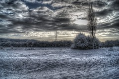 Again with the snow... (Mortarman101) Tags: winter snow cold clouds hdr abigfave goldstaraward