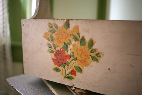 40s floral box