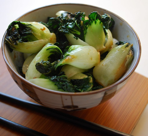 The Cutting Edge of Ordinary: Simple Baby Bok Choy