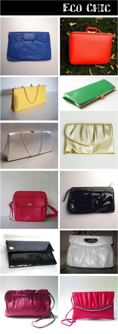 Eco Chic - Vintage Vegan Purses