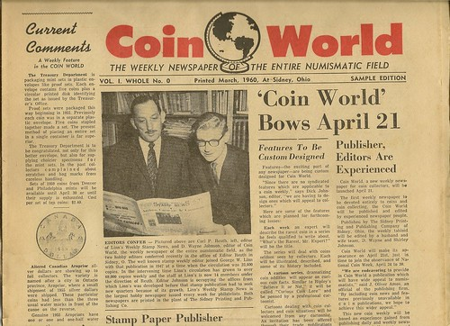 Coin World, Vol 1, No. 0