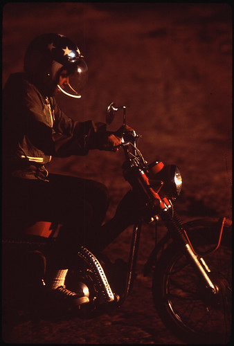 Young Navajo Cycle Rider