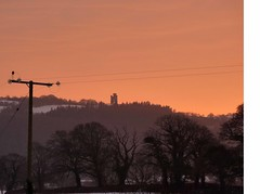 Red Sky at Night (annicariad) Tags: sunset sky wales cymru pinky annicariad ilovelivinghere