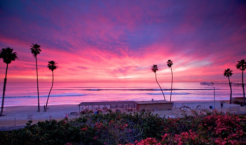 Sunset at San Clemente T-Street by Rys Photostream.