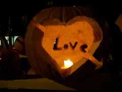 Love (zoewscott) Tags: autumn art fall love halloween gourds festival pumpkin heart pumpkins newhampshire vegetable lanterns proposal keene jackolanterns