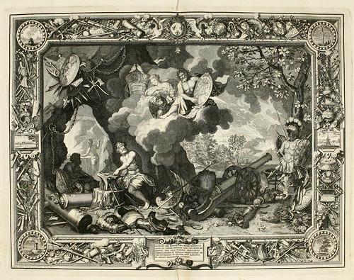 001- Los elementos-el fuego-Tapisseries du roy, ou sont representez les quatre elemens 1690- Sebastien Le Clerc