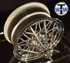"Texan Wire Wheels 15"" '84 Super Poke (texanwirewheels) Tags: wheels wirewheels swangas 30spoke rimswirewheelsswangas30spoke30spokewheels"