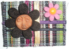 Fat Felt flower Face