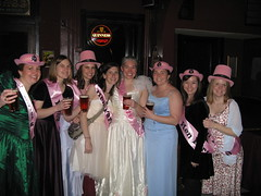the Ugly Bridesmaid Dress Bar Crawl Crew