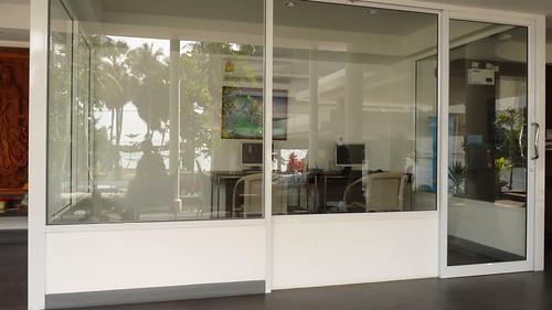 Koh Samui Al's Laemson コサムイ アルズレムソン-reception area2