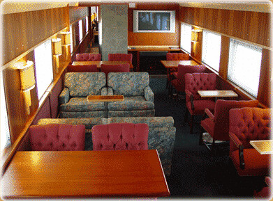 Private Rail Car - Golden Tower, lounge