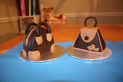 Purse cake tutorial
