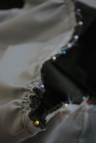 Pinning the Bodice