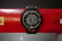 Casio PAW-1100 Barometer Mode (Flatwave) Tags: watch casio abc gshock pathfinder protrek paw1100