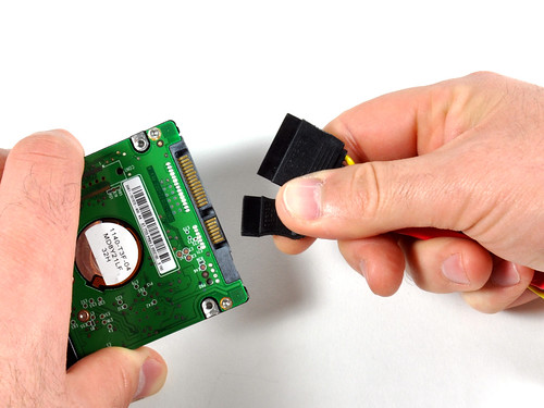 Установка жесткого диска Mac mini