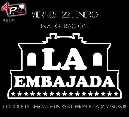 Inauguración La embajada