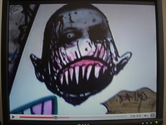 trade on youtube (andres musta) Tags: andres musta stickers sticker art stickerart trades slaps youtube video zas zombie squad zombieartsquad adhesive andresmusta