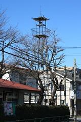 東寺方の火の見櫓(多摩市)