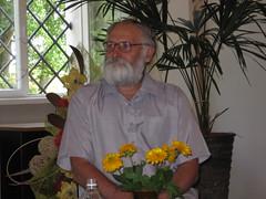 Albinas Kazlauskas (Zitute) Tags: biblioteka biržai renginiai literatai albinaskazlauskas
