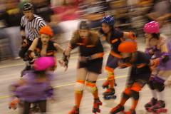 Dolls vs. Slashers (15) (cthomps1980) Tags: city party dolls slumber steel roller derby demons wrecking slashers