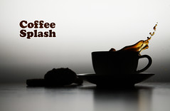 Coffee Splash Silouette Style (Ole Andre Skarbvik) Tags: coffee drops coffeecup drop splash kaffe spills spilled splashes stillpicture freezingmotions cookiesplash coffeesplash coffesplash