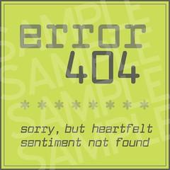 Error 404 Valentine