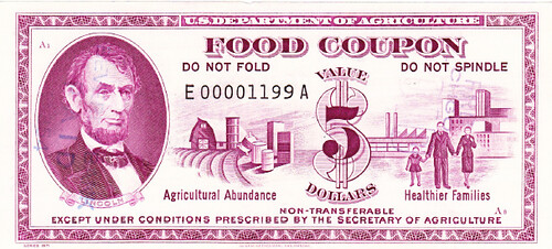 US Food Coupon $5