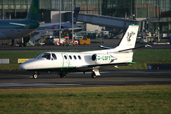 Air Atlantique - G-LOFT (Andrew_Simpson) Tags: ireland dublin dub cessna dublinairport citation bizjet airatlantique 500citation gloft