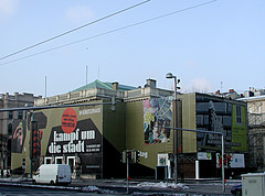 P1010030n (not one of you) Tags: vienna klimt secession karlsplatz graben chamunda