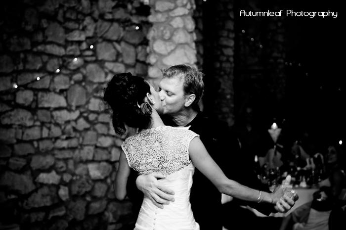 Ari & Shaun's Wedding - Bridal Walts Kiss