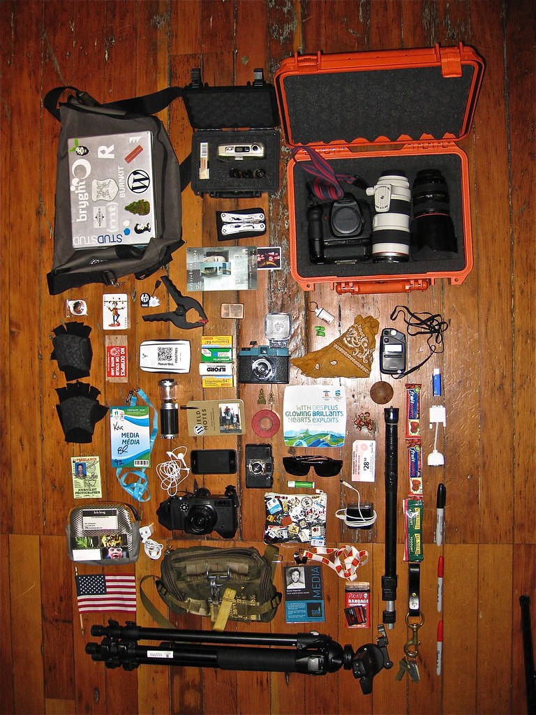 What's In My Bag(s)?