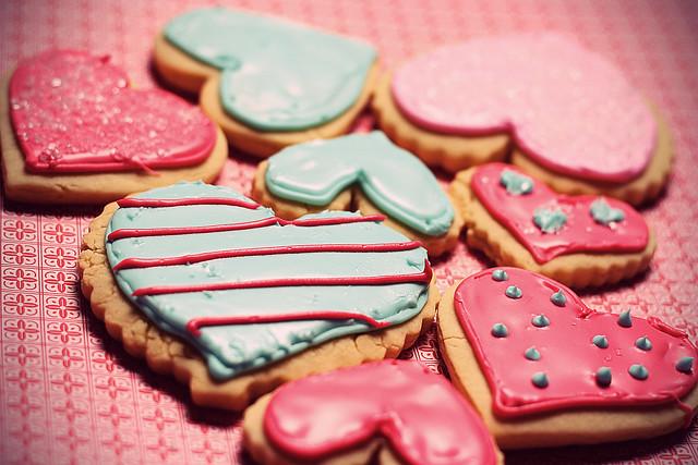 Cody's Valentine's Sugar Cookies