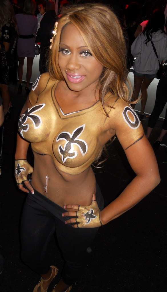 New Orleans Saints, Painted Ladies, Playboy Mansion Superbowl Party