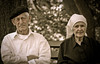 An Old French Couple so looking forward to St. Valentine's Day (alan shapiro photography) Tags: old sepia french couple character content expressive beret aging worldsapart alanshapiro sittingtogether frenchcouple momentsoftruth ashapiro ashapiro515 memorycornerportraits ©2010alanshapiro alanshapirophotography wwwalanwshapiroblogspotcom ©2010alanshapirophotography