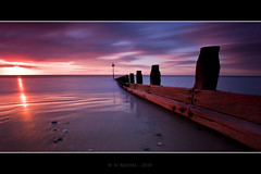Borth Breakwater (Spiritflier) Tags: longexposure sunset sea sky beach clouds canon eos coast interestingness sand aberystwyth explore 7d grad groyne ceredigion borth breakwater 137 carbonfibre cokin giottos neutraldensity nd110 zpro efs1022mmusm spiritflier simoore