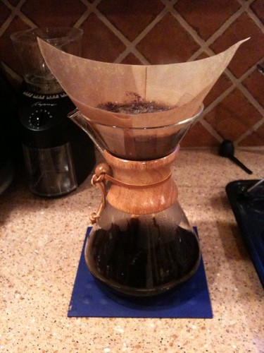 Elegant and Sustainable Coffee: Chemex, Filter Drip, Coffee-Maker