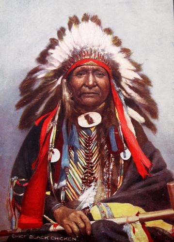 Chief Black Chicken, Yankton Dakota (Sioux)