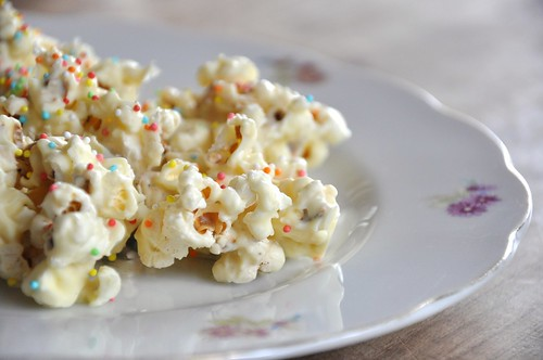 San Valentino: Pop Corn al Cioccolato Bianco