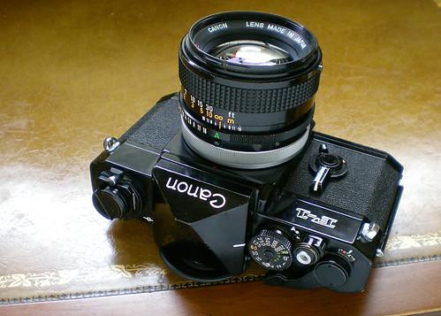 Original Canon F-1 Film Camera - 1971